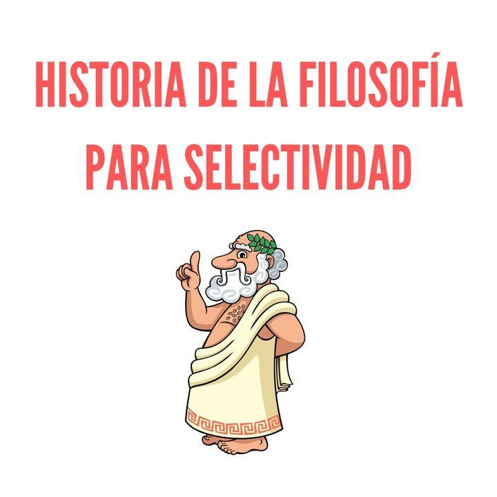 Historia de la filosofía para selectividad