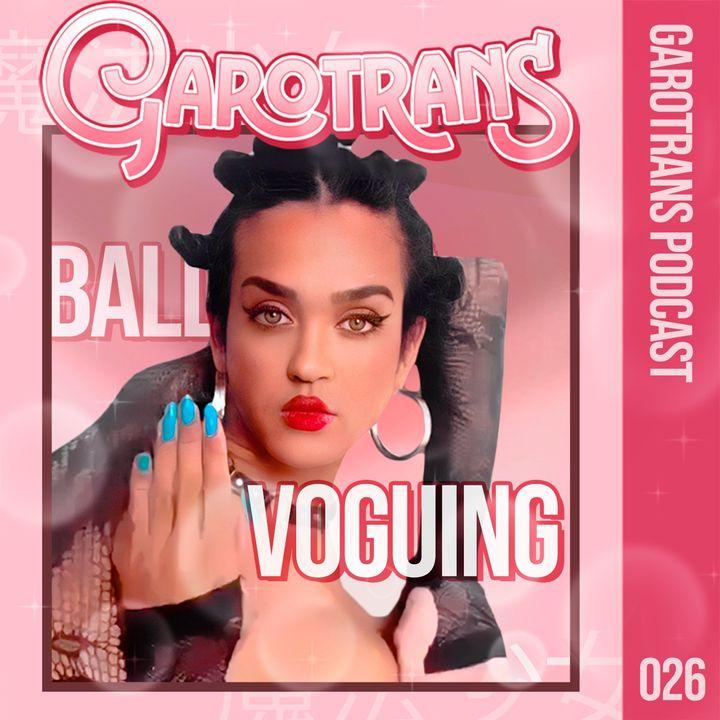 26| Passamos 1 hora com uma VOGUE DANCER brasileira ft. Shock Vogue