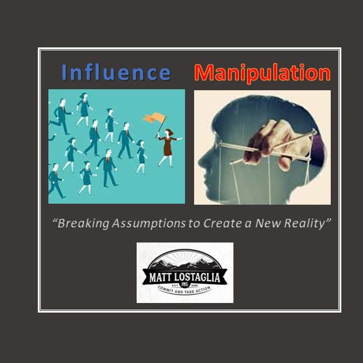 Influence vs Manipulation
