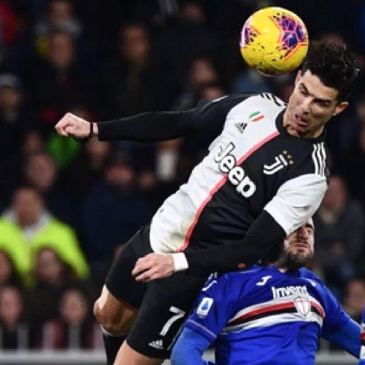 CR7 va in cielo! La radiocronaca di Sportiva del gol di Ronaldo contro la Samp