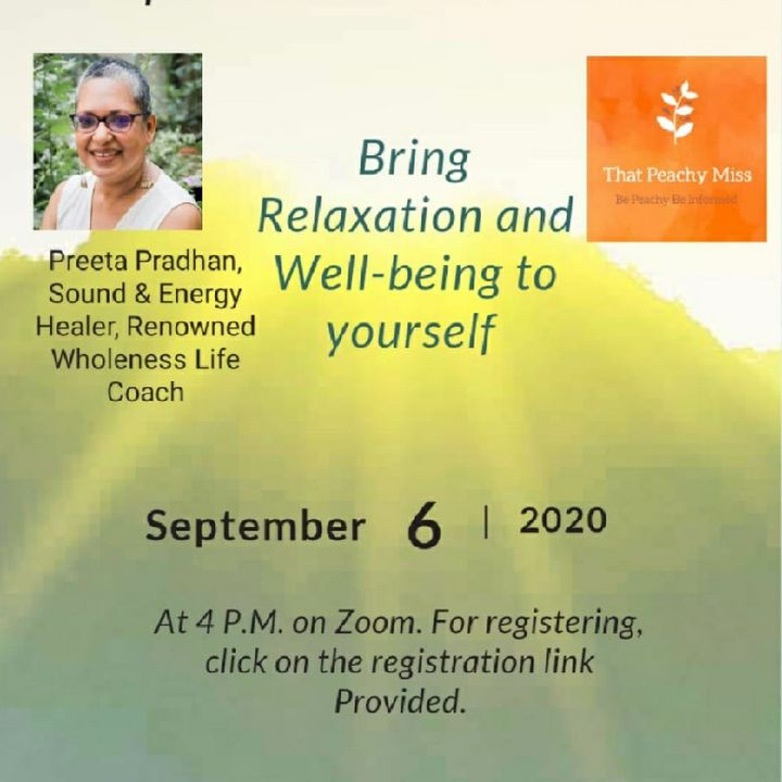 Webinar 6th Sep At 4Pm- Sacred Sound Bath