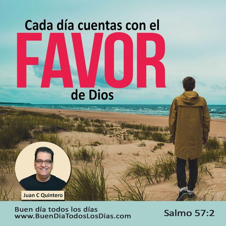 Manifestación del favor de Dios