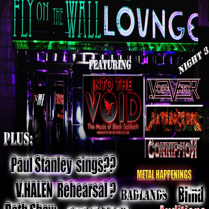 This Metal Webshow / Fly on the Wall Lounge night 3