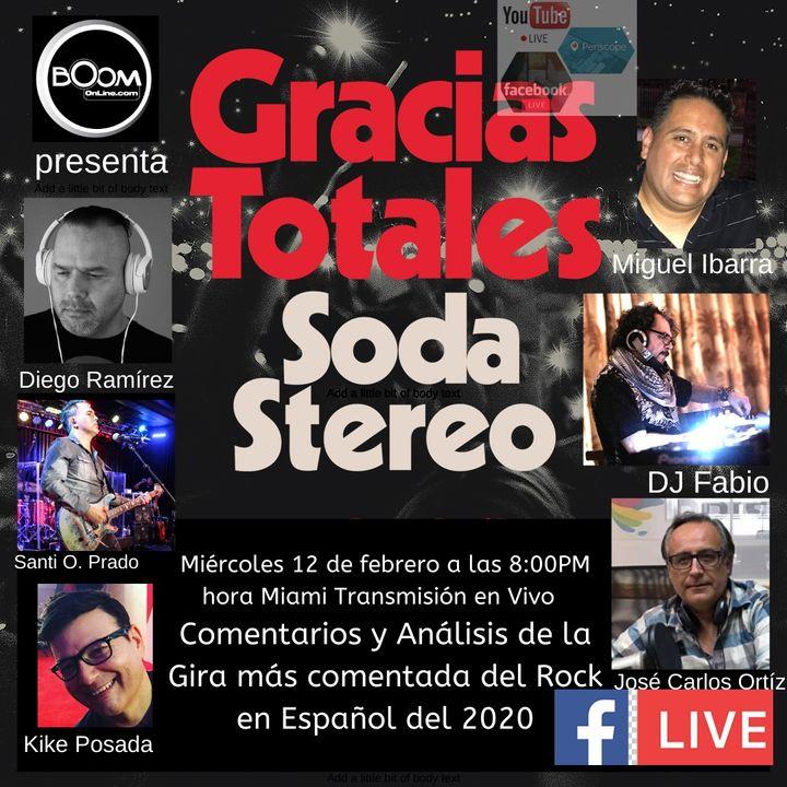 Análisis de GRACIAS TOTALES de SODA STEREO (Podcast)
