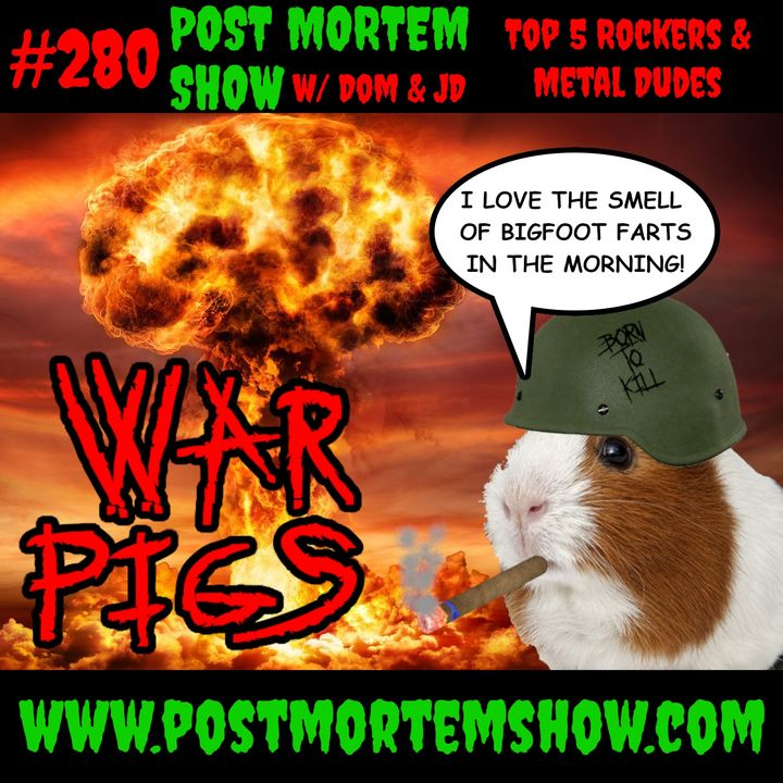 e280 - War Pigs (Top 5 Rockers & Metal Dudes)