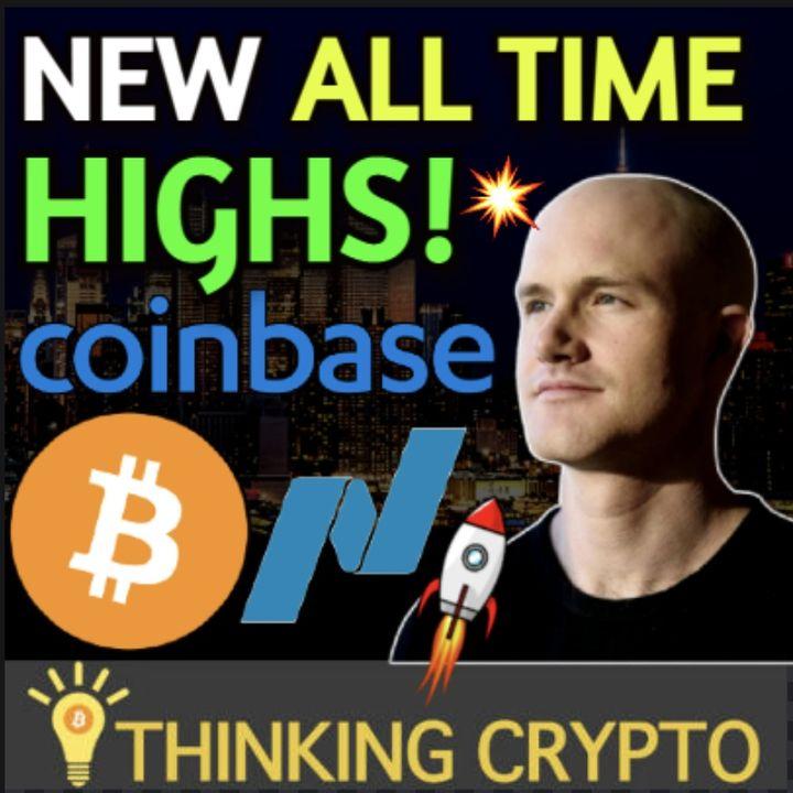 Coinbase Nasdaq Public Listing Will Send Bitcoin & Crypto Market Parabolic!