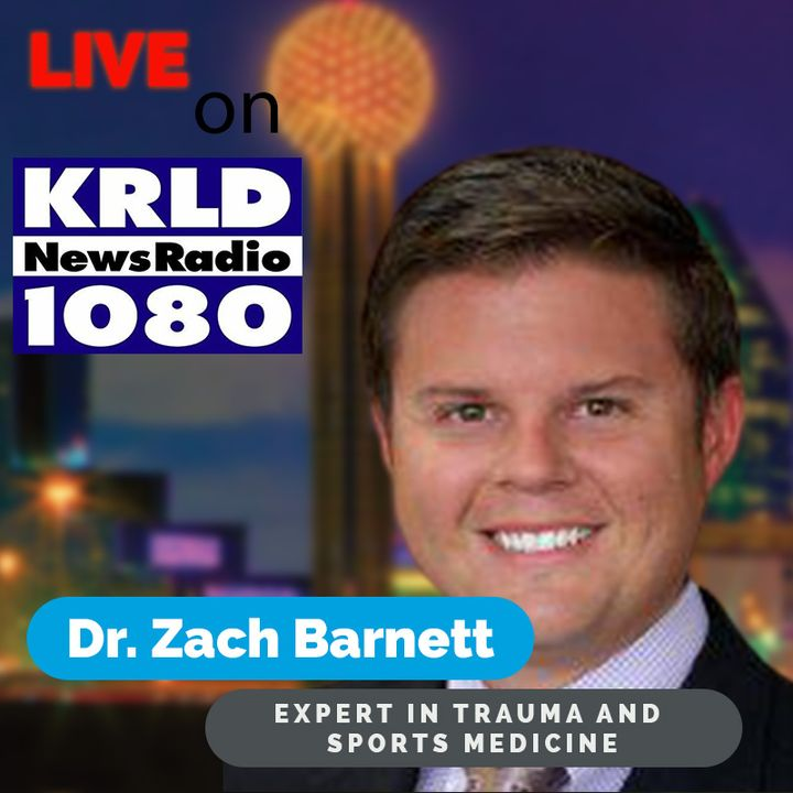 Car wreck leads to surgery for Tiger Woods || 1080 KRLD Dallas || 2/24/21