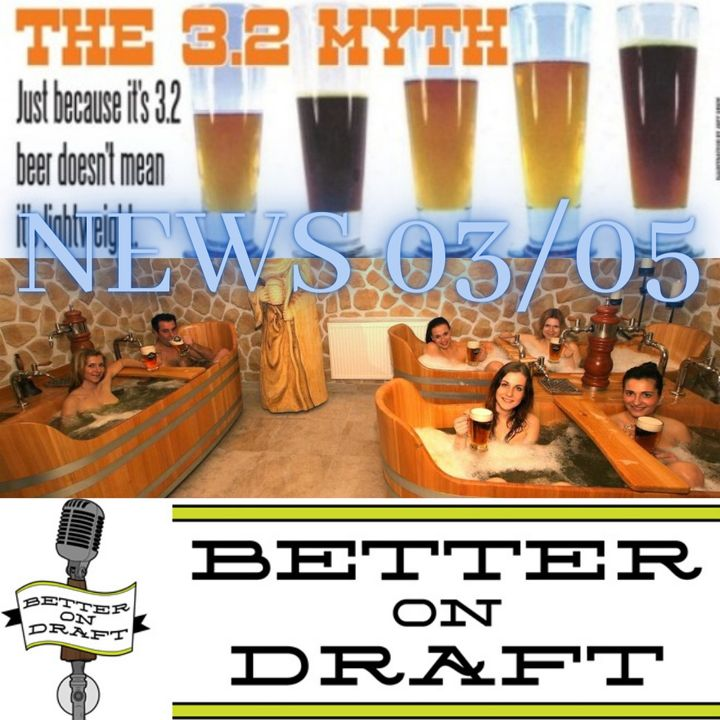 Better on Draft News (03/05/21) – Beer Spas & Store Bans