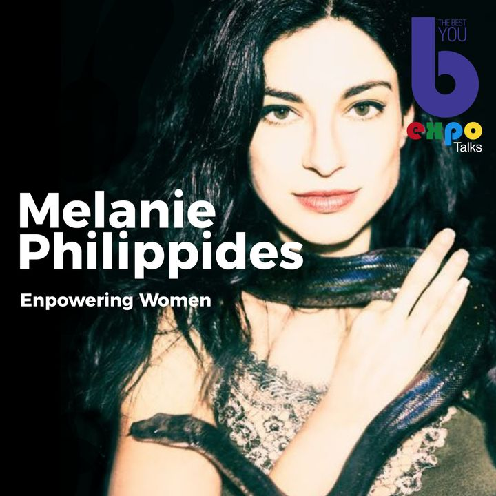 Melanie Philippides at The Best You EXPO