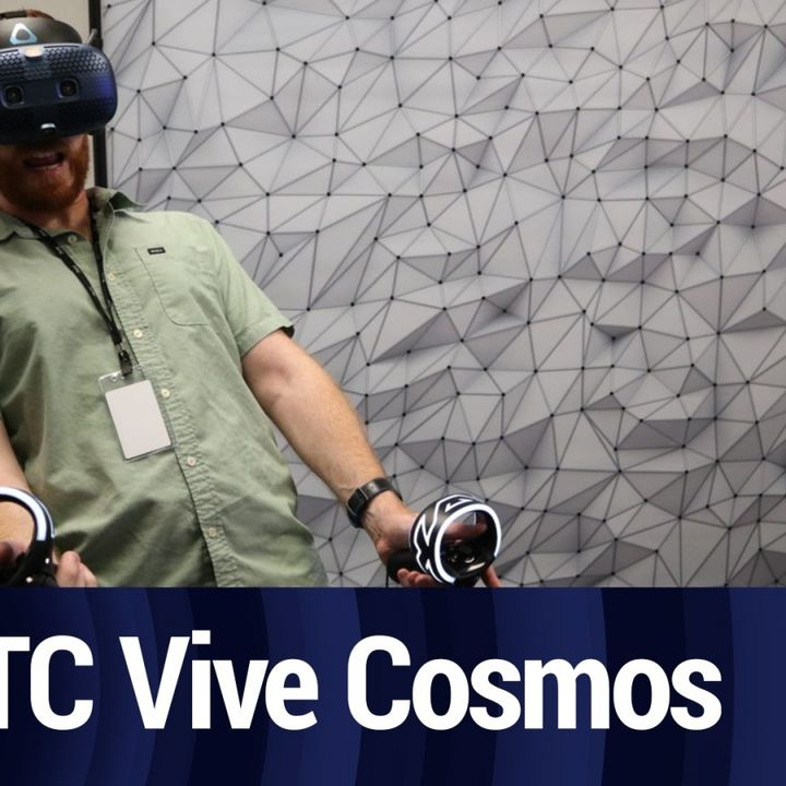 Testing the HTC Vive Cosmos | TWiT Bits