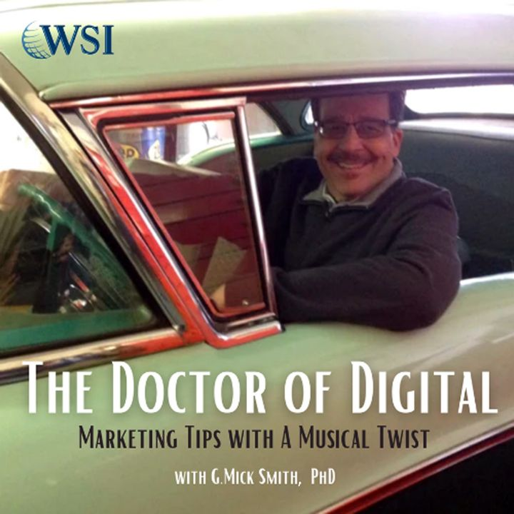 Gabor Markus Interview Episode #138 - The Doctor of Digital, G.Mick Smith, PhD