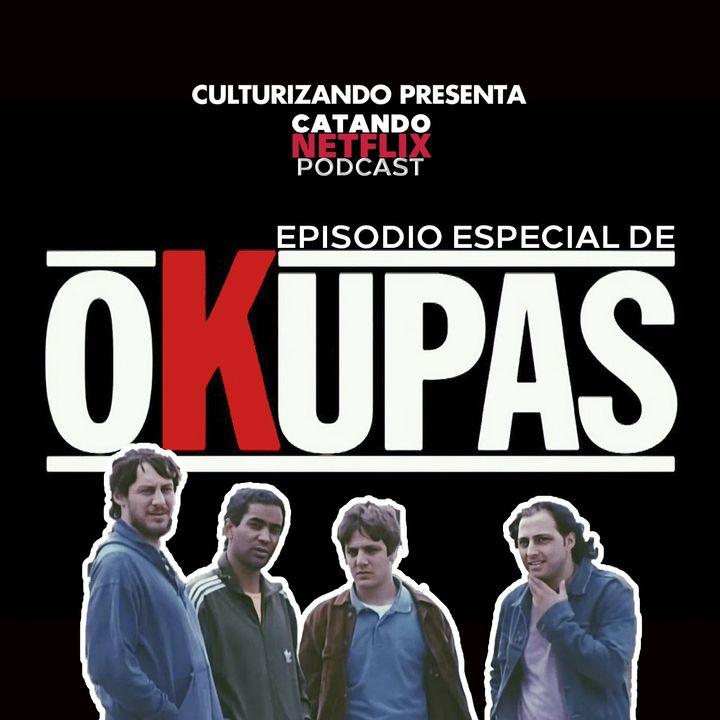 Okupas, entrevista con Ariel Staltari • Catando Netflix • Series y Películas