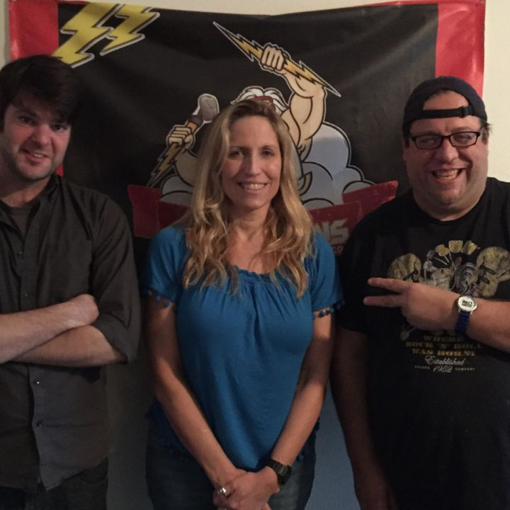 """SUPERSTAR COMIC AND """"CONAN"""" WRITER LAURIE KILMARTIN TALKS ABOUT WHY DEAD PEOPLE SUCK!"""