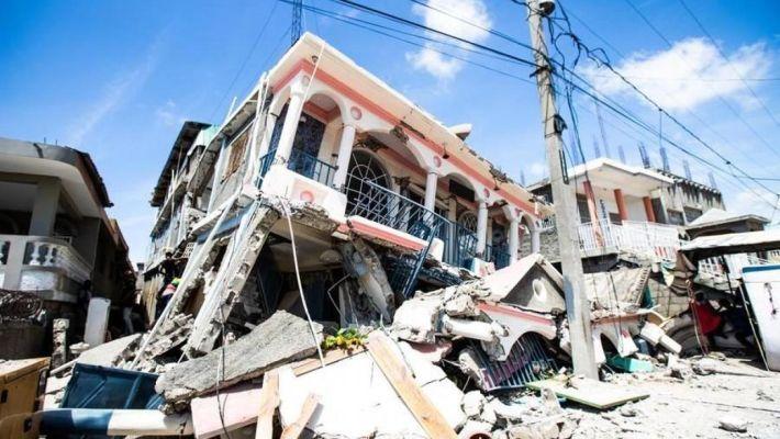 Terremoto ad Haiti, 1300 morti e migliaia di feriti e sfollati. Ora allerta per il ciclone Grace