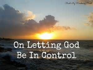 Allowing God To Work