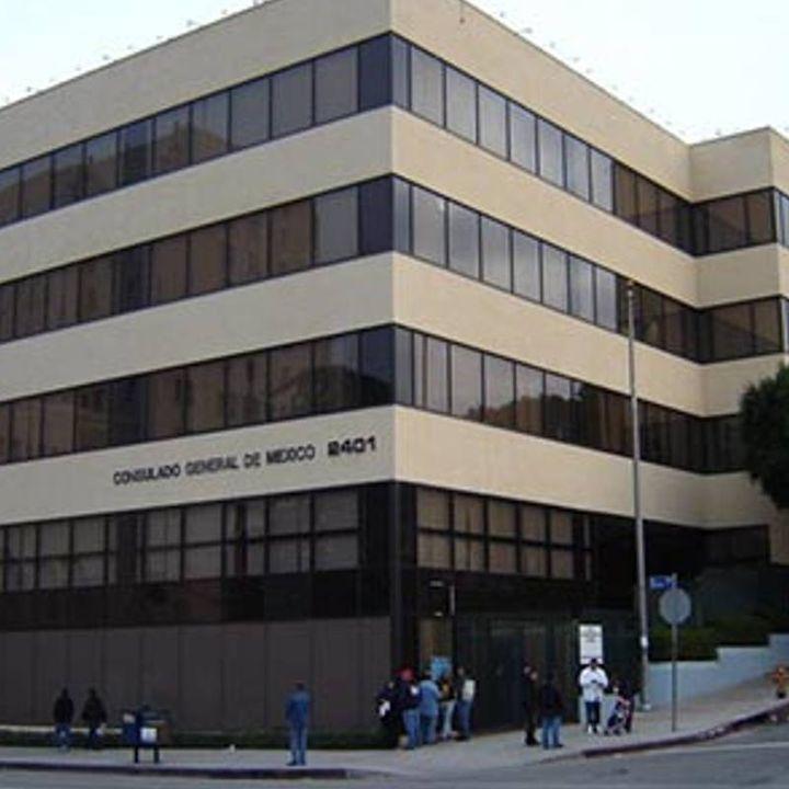 Consulados mexicanos en California ofrecen información tras sismo
