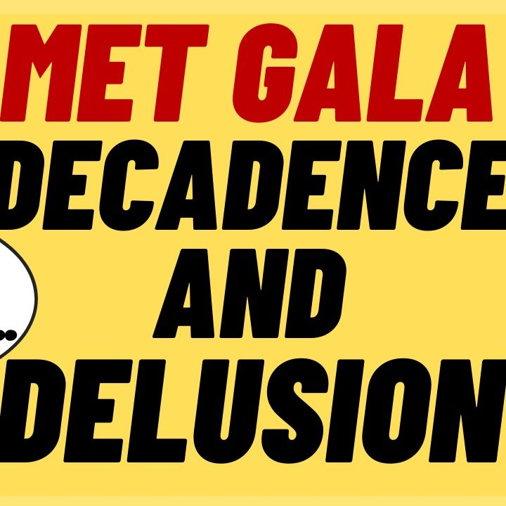 AOC MET GALA Decadence And Delusion