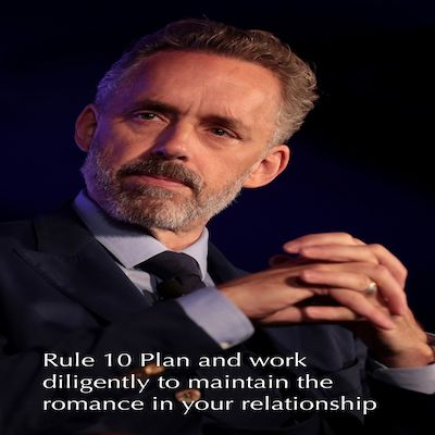 Rule 10 Plan And Work Diligently To Maintain The Romance in Your Relationship
