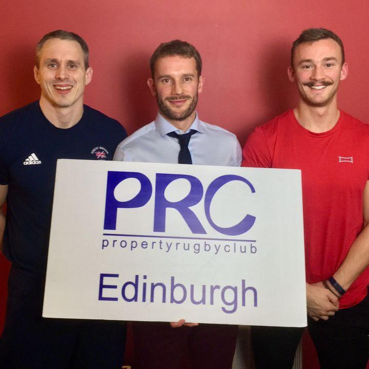 Episode 19 - with Judo Olympian Euan Burton and power-lifter Fergus Crawley