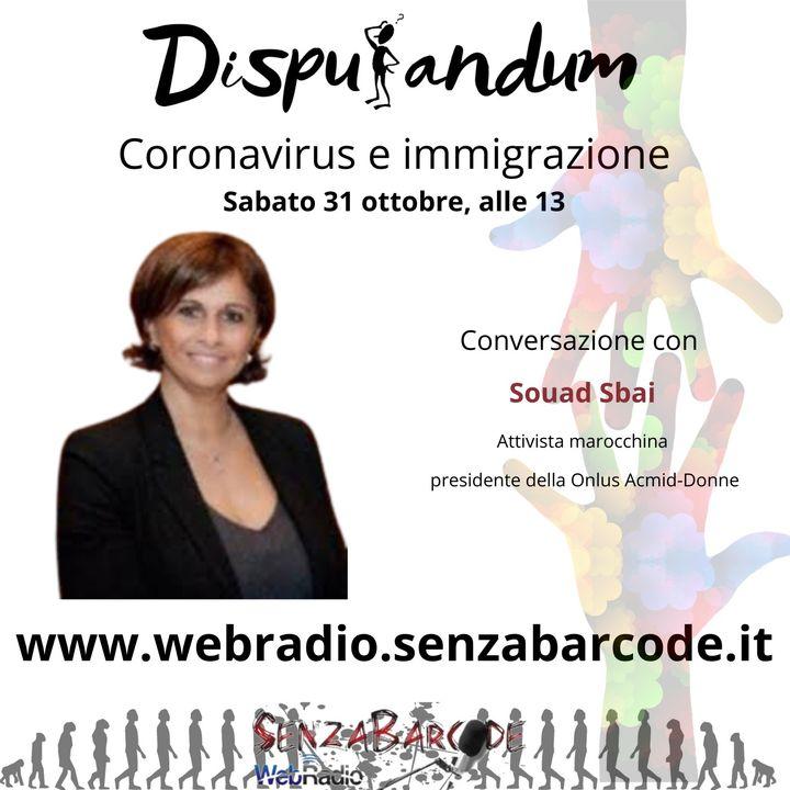 Souad Sbai, terrorismo, immigrazione, coronavirus