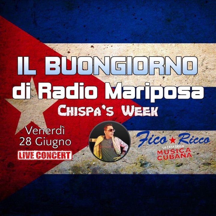 """Buongiorno e Buon Giovedì con Chispa Y Los Cómplices: """"Días""""   Episodio 558   Musica Cubana"""