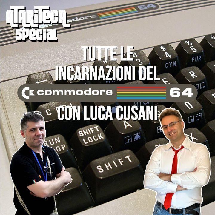 Ep.45 - Speciale collezionisti: tutte le Incarnazioni del COMMODORE 64 con Luca Cusani