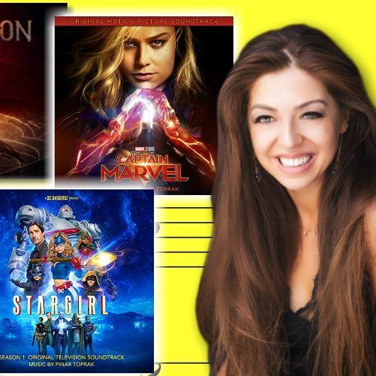 #336: Pinar Toprak – soundtrack composer for Krypton, Captain Marvel, and Stargirl!