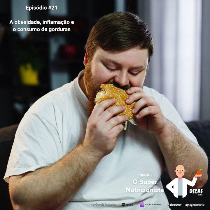 021 A obesidade, inflamação e o consumo de gorduras