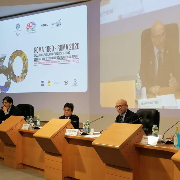 60 anni di Roma'60, evento conclusivo all'Inail