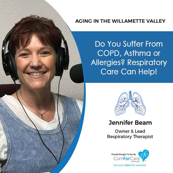 8/21/18: Jennifer Beam with Premier Pulmonary Services | Do you suffer from COPD, asthma, or allergies? Respiratory care can help!