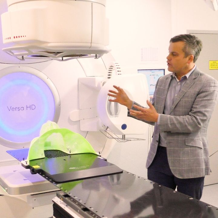 Head & Neck Cancer - Innovations in Radiation Therapy with A/Prof Dion Forstner