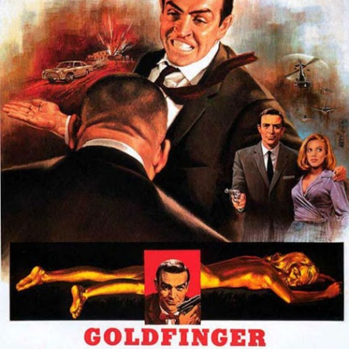 PODCAST CINEMA   SAGA JAMES BOND #4   Critique du film GOLDFINGER