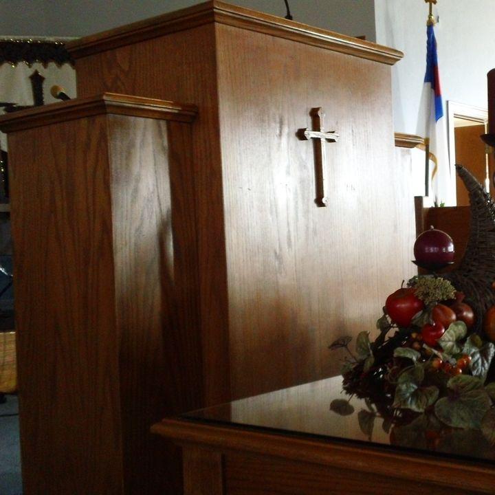 The Creek Road Baptist Pulpit