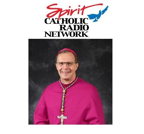 Bishop Joensen During the Spring Care-a-Thon 2021