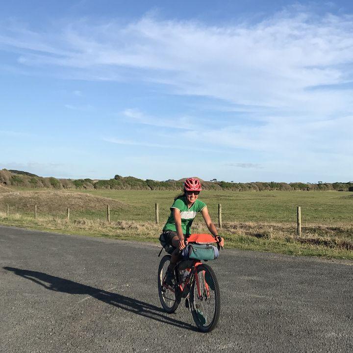 9. Sasha Smith - MTB racer turned bikepacker, and kids bike coach