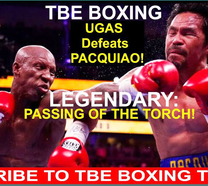 PASSING OF THE TORCH: YORDENIS UGAS POSSIBLY RETIRES MANNY PACQUIAO IN A SPECTULAR PERFORMANCE!