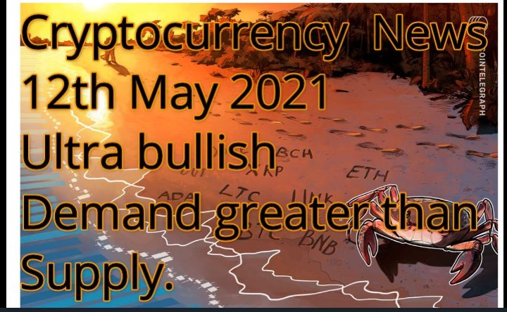 Cryptocurrency news and prices as at 10th FEB 2021
