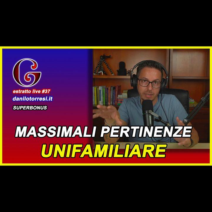 🟡 Moltiplico i massimali per le pertinenze dell'unifamiliare - estratto live #37