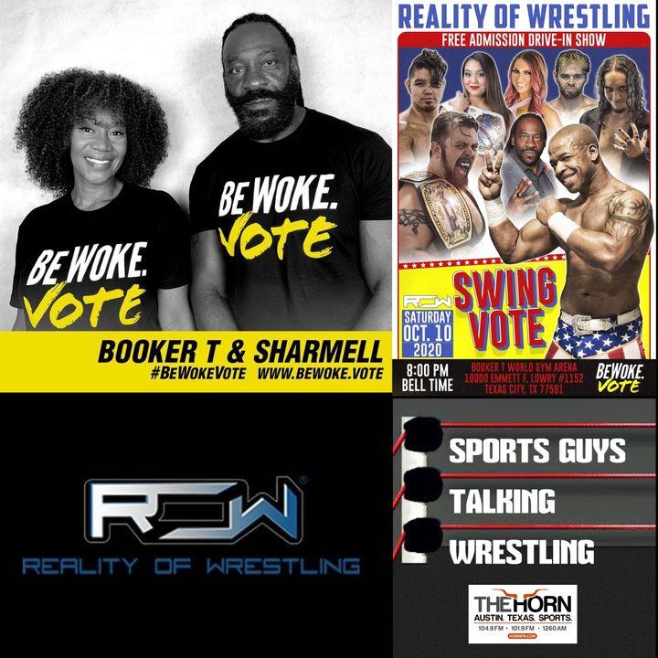 Booker T Sharmell ROW Be Woke Vote Oct 6 2020