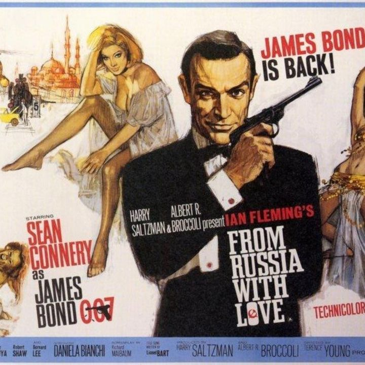PODCAST CINEMA : SAGA JAMES BOND / Avis sur le film BONS BAISERS DE RUSSIE [ CinéMaRadio ]