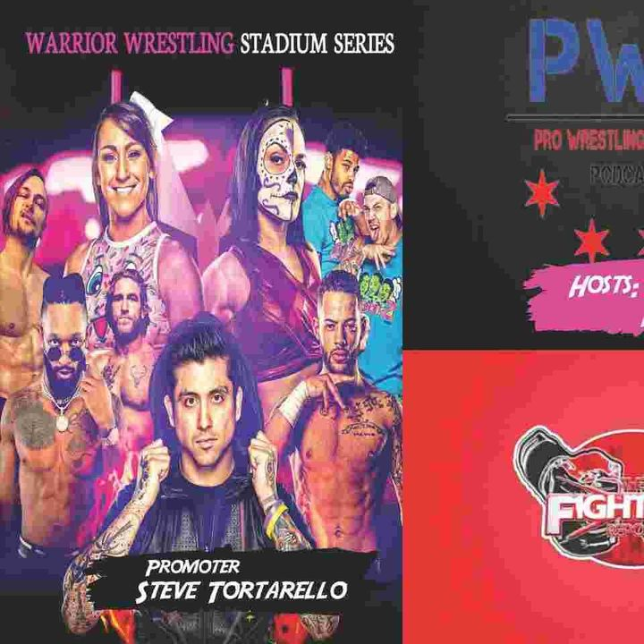 "Warrior Wrestling Promoter Steve Tortarello ""Stadium Series"" Preview Pro Wrestling Enforcer Podcast."