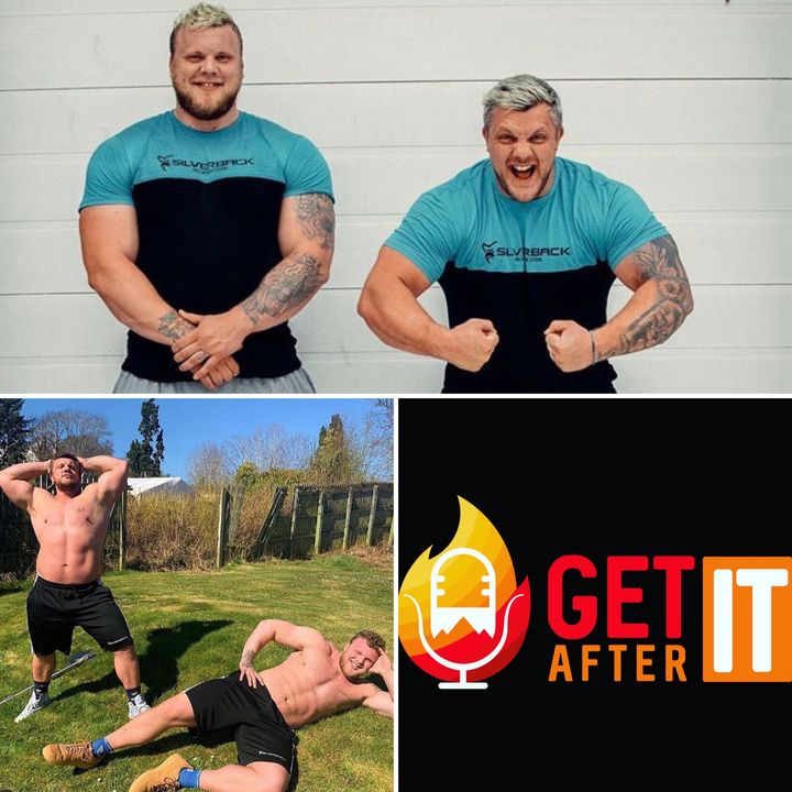 Episode 117 - with The Stoltman Brothers - Worlds Strongest Man competitors.