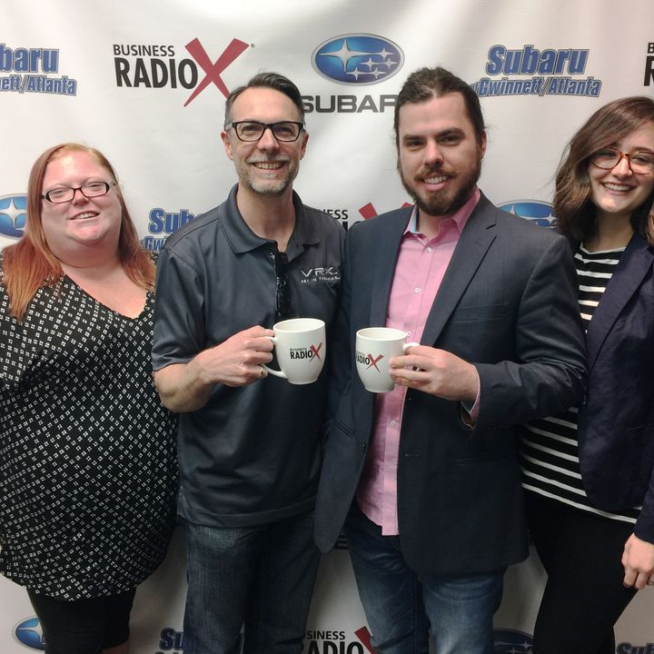 MEMBER SPOTLIGHT: Nicole Russell with Dave & Buster's Sugarloaf, Chris Reese & Parker Cain with VRX Games, and Taelar Bybee with Gwinnett Ch