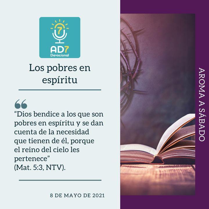 8 de mayo - Los pobres en espíritu - Devocional de Jóvenes - Etiquetas Para Reflexionar