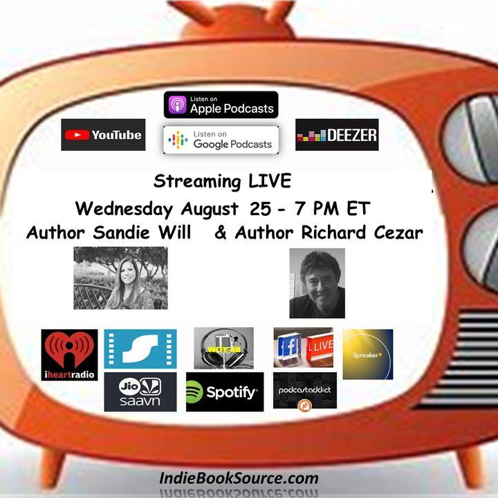 MEET THE AUTHOR Podcast - Episode 22 - SANDIE WILL & RICHARD CEZAR