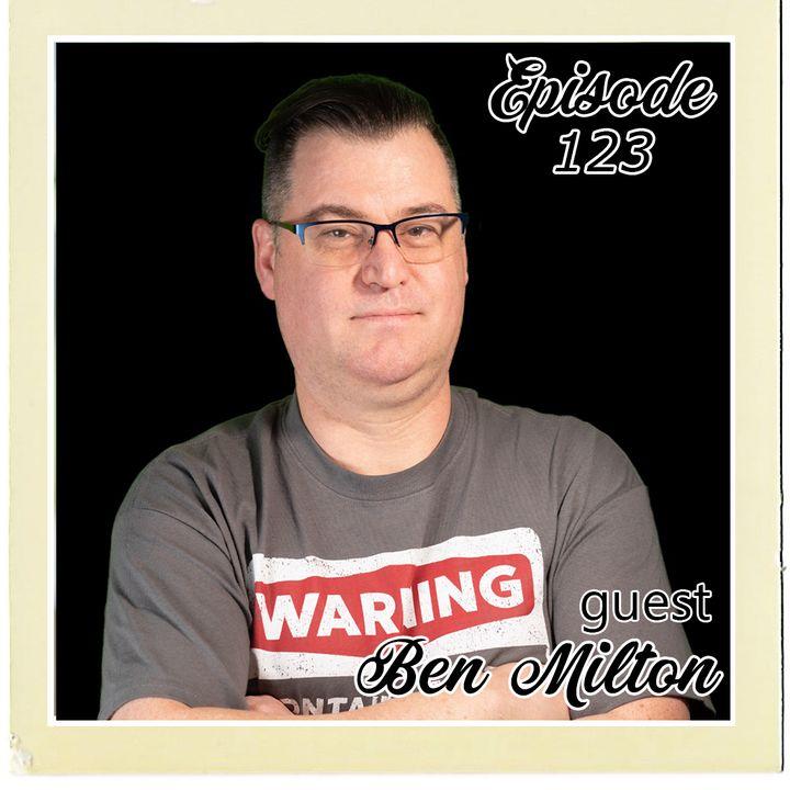 The Cannoli Coach: Origin Story Radio w/Ben Milton   Episode 123