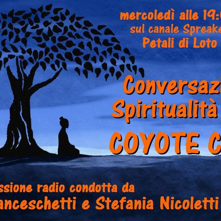 "Conversazioni di Spiritualità con Coyote Cardo - ""L'avventura di Damanhur"" - 31/03/2021"