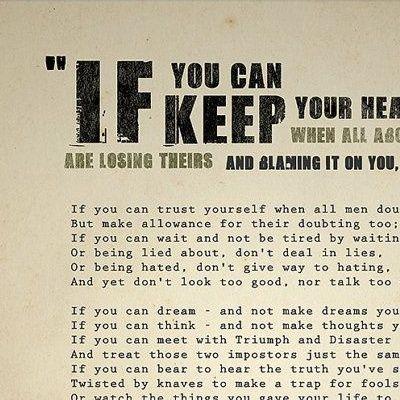 #104 - If ; The Classic Poem by Rudyard Kipling