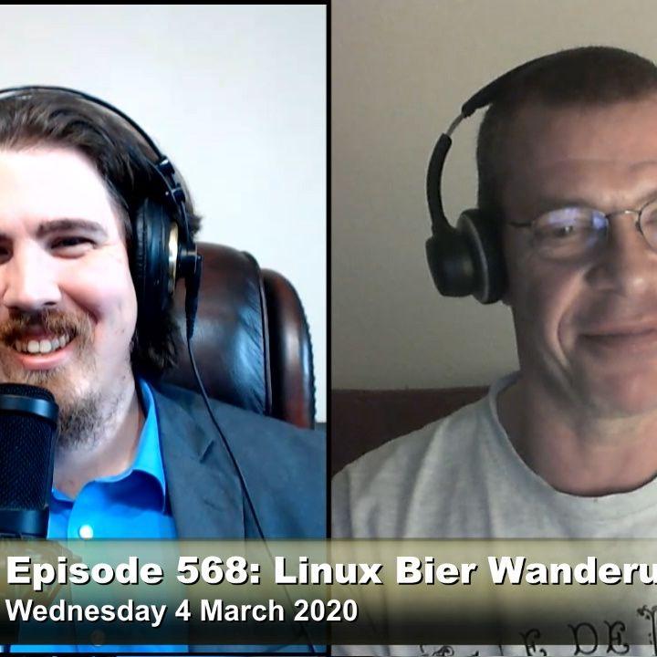 FLOSS Weekly 568: Linux Bier Wanderung