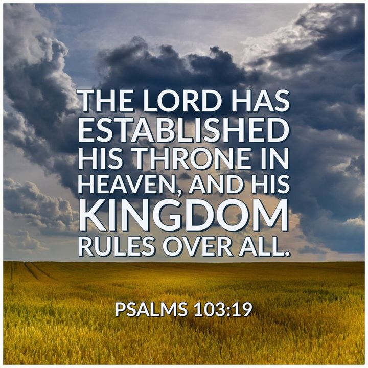 Be Encouraged – God Is Sovereignly in Control of All the Details of Your Life.
